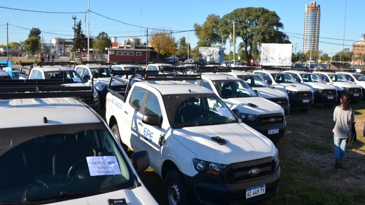 EPE compró 55 camionetas