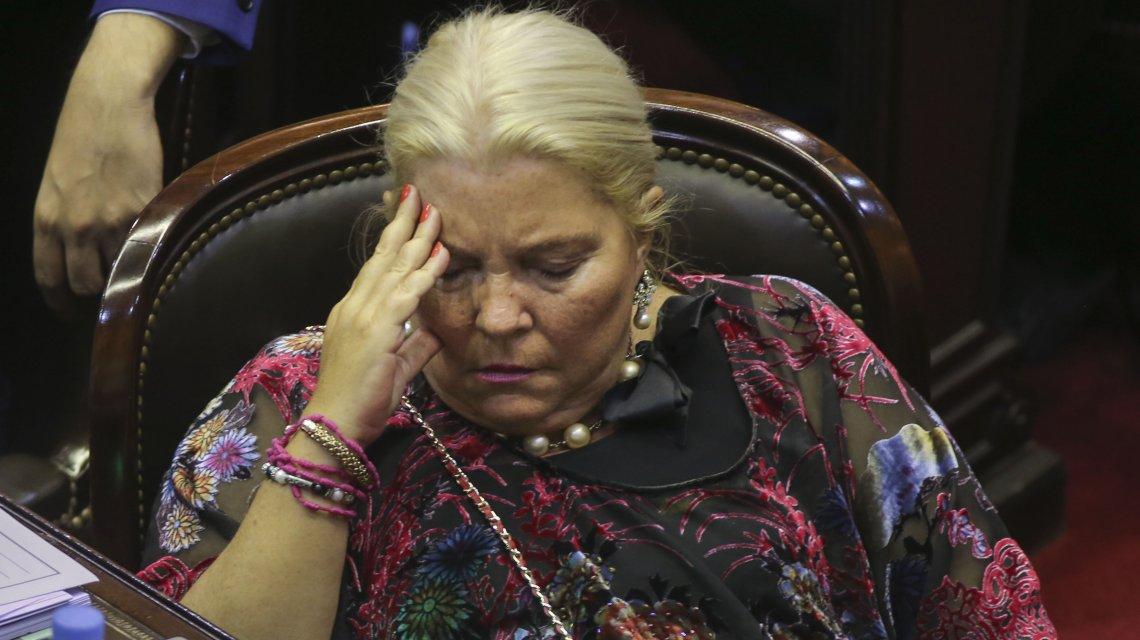 Revés judicial para Carrió: no podría ampararse en los fueros en una demanda por falsa denuncia