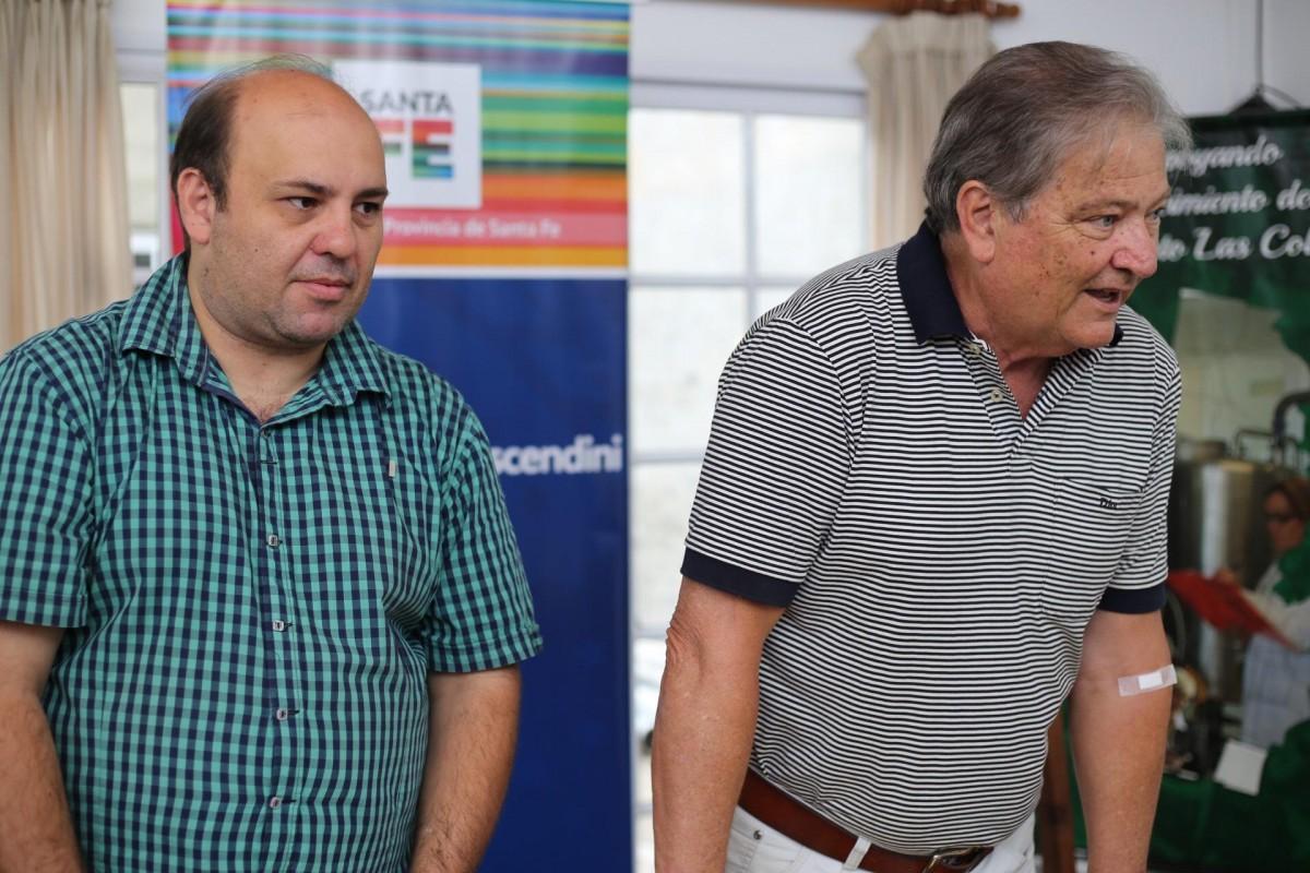 FASCENDINI ENTREGÓ APORTES A INSTITUCIONES Y COMUNAS