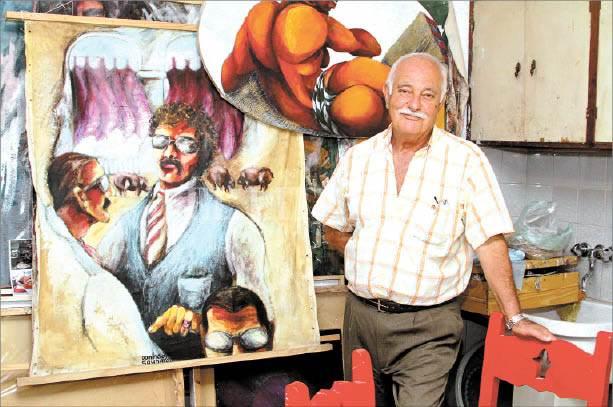 Falleció el artista y crítico de arte Domingo «Coco» Sahda
