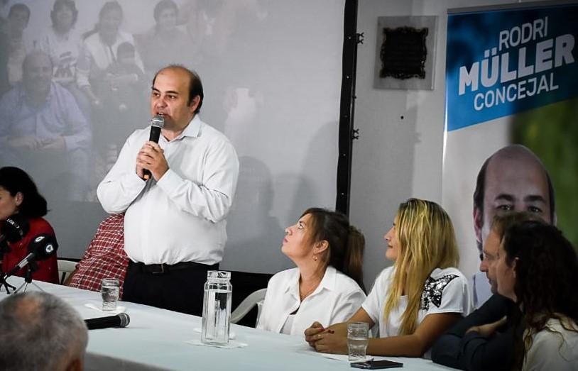 Rodrigo Müller reclamó al Ministerio de Seguridad por el estado de los móviles policiales